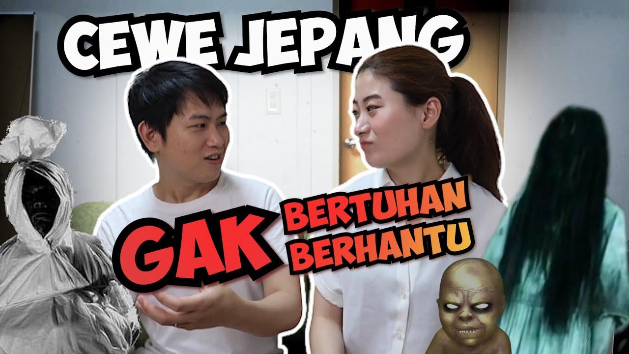 CEWE JEPANG GAK BERAGAMA LIAT HANTU INDONESIA REAKSINYA BEGINI!