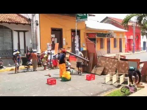 ONU denuncia autores da violência na Nicarágua