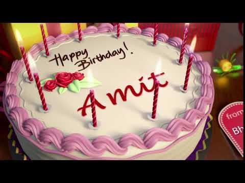 happy birthday amit youtube