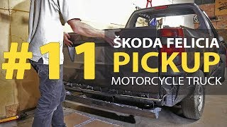 #11 Škoda Felicia Pickup 1.9D Rebuilding A Wrecked - Car painting and soundproofing car