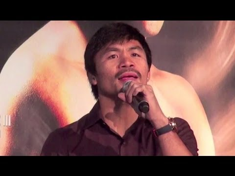 Manny Pacquiao Sings