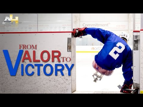 From Valor to Victory: One Marine's Journey from the Battlefield to the Ice Rink