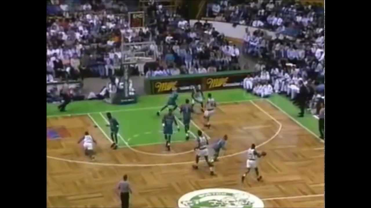 Reggie Lewis Last Game as a Celtic