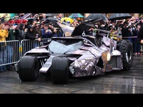 Batmobile Tumbler Start Gumball 3000