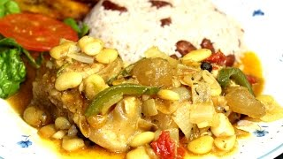 How To Make Jamaican Curry Cow's Foot With Butter Bean Recipe