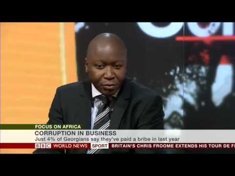BBC World Service Global Corruption interview