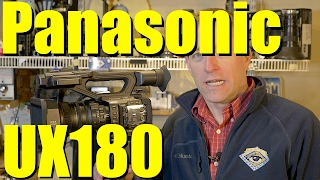 """MY REVIEW: Panasonic UX180 1"""" sensor, 4K Camcorder, 20x Zoom - Overview and Features Walkaround"""