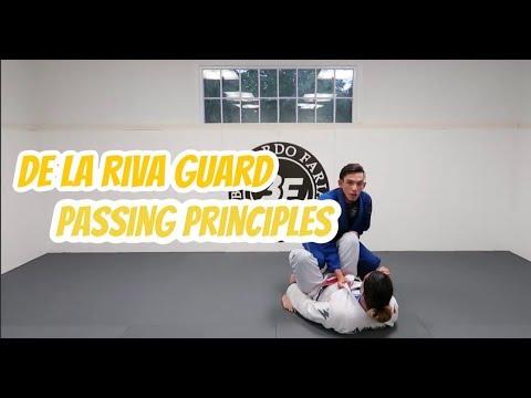 De La Riva Guard Passing Principles