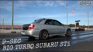 Big Turbo STi Rips Into The 9s | ECS Performance |