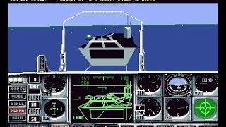 Flight of the Intruder (PC/DOS) 1990, Spectrum Holobyte, Rowan Software