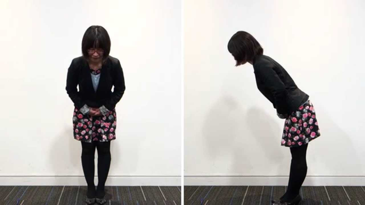 Japanese Focus How To Bow Respectfully Youtube
