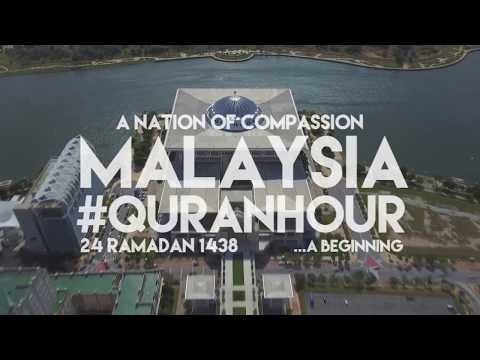 Malaysia #QuranHour 24 Ramadan 1438H 12 - 1pm