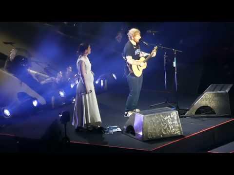 Ed Sheeran-Missy Higgins*PERFECT*Duet 21/3/18 Suncorp Brisbane