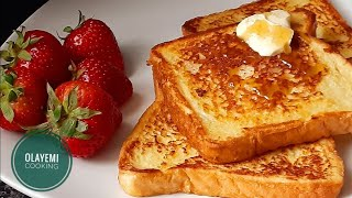 How to Make Fręnch Toast Without Vanilla - French Toast
