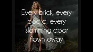Carrie Underwood - Blown Away [Lyrics On Screen]