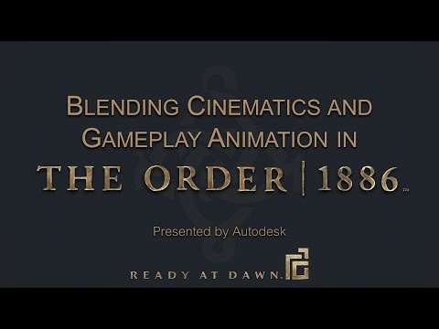 [GDC 2015] Animation of The Order: 1886