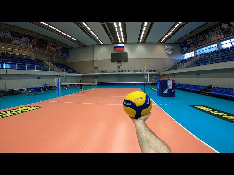 Волейбол от первого лица | VOLLEYBALL FIRST PERSON TRAINING | ZENIT ST. PETERSBURG|SETTER|58 Episode