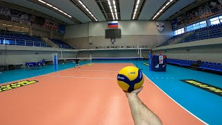 VOLLEYBALL FIRST PERSON TRAINING | ZENIT ST. PETERSBURG | SETTER | 58 episode