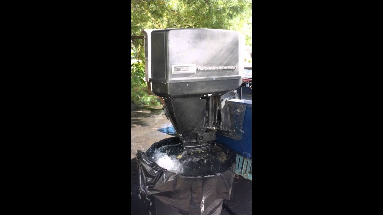 Chrysler outboard 35hp manual youtube on