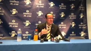 Video:  Shockers Gregg Marshall loves his team