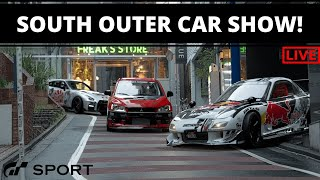 Gran Turismo Sport - Tokyo Express South Outer Loop Live-Stream Car Show!