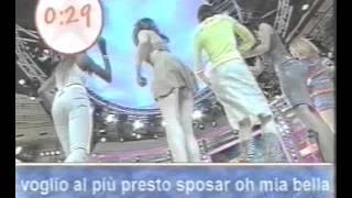 Repeat youtube video Luana Ravegnini upskirt a Furore 1999