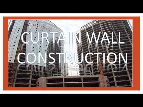 Curtain Wall Construction Youtube