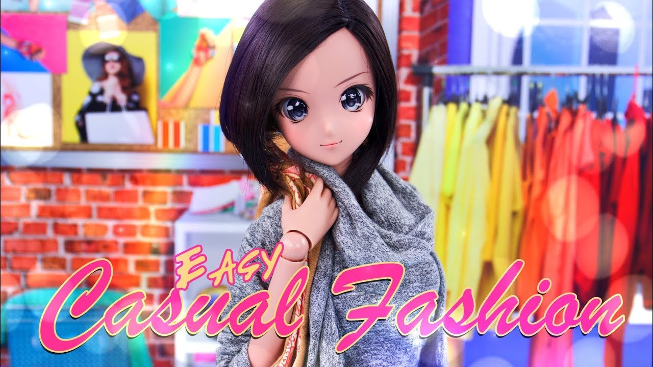 [VIDEO] - DIY - How to Make: EASY Casual Fashion   Smart Doll   Barbie   Fresh Dolls & more 8