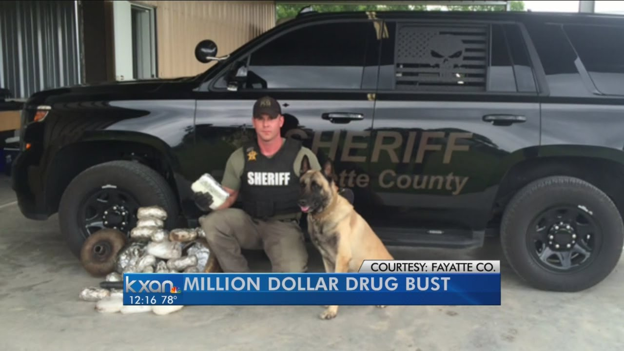 Fayette County drug bust