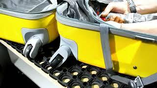 Замена колеса чемодана