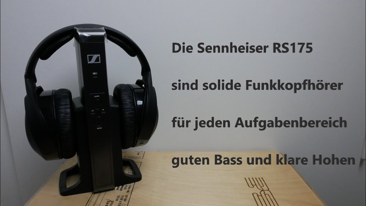444e047f12a Sennheiser RS 175 - YouTube