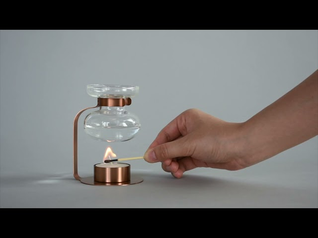 『 讓氣味成為提昇生活品質的好助手!』KINTO AROMA OIL WARMER 古典擴香瓶
