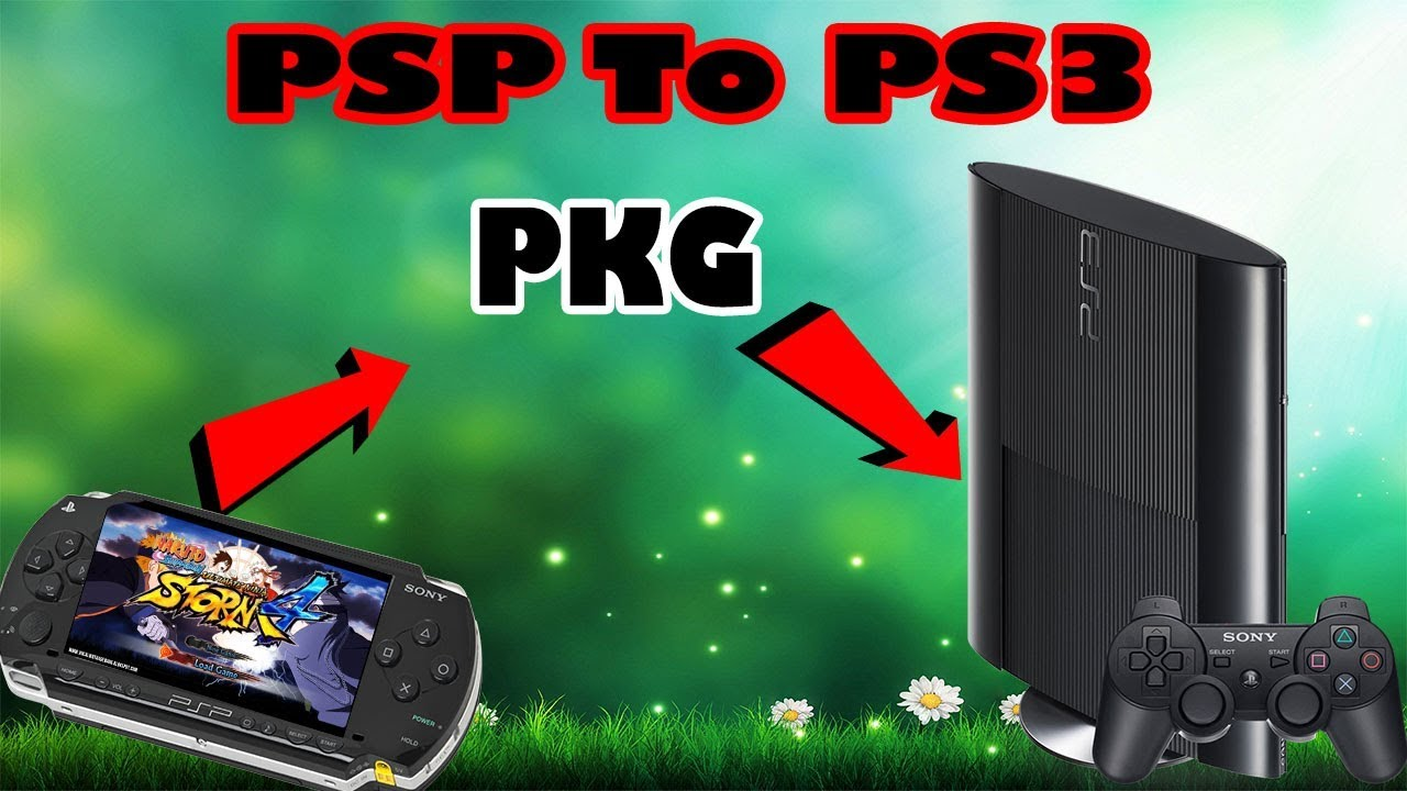 How To Play PSP GAMES With PS3 HAN