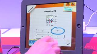 American Mensa Academy iPad Gameplay - E3 2012