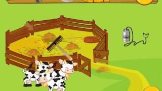 Peppa Pig Feed Animals  Свинка Пеппа   кормит животных на Ферме  Игра прохождение