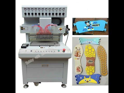 Soft Pvc Slipper Upper Making Machine