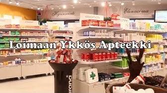 Loimaan Ykkös Apteekki & Loimaan Uusi Kirjakauppa ja Loimaan Kauppala