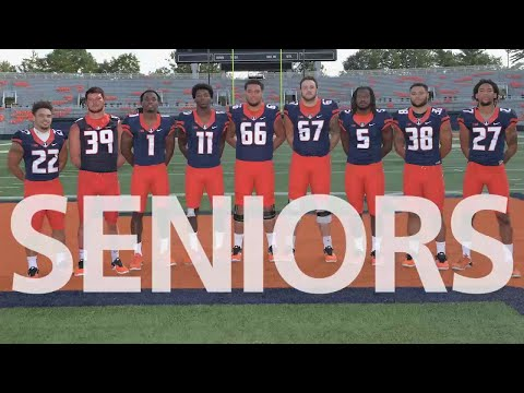 Illinois Football 2017 Senior Memories