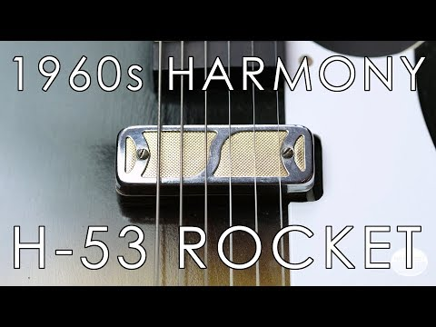 """""""Pick Of The Day"""" - 1960s Harmony H-53 Rocket"""