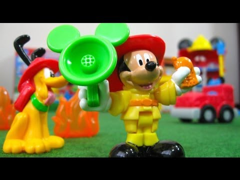 Thumbnail: Mickey Mouse Funny Firehouse Clubhouse Disney Junior Fisher-Price - Juguetes de Mickey Mouse