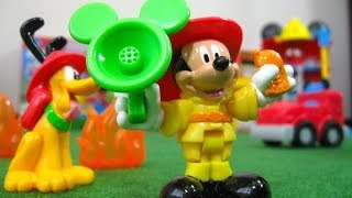 Mickey Mouse Funny Firehouse Clubhouse Disney Junior Fisher-Price - Juguetes de Mickey Mouse