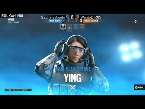 ESL Go4 (R6S On PS4) Europe Cup #86 Finals