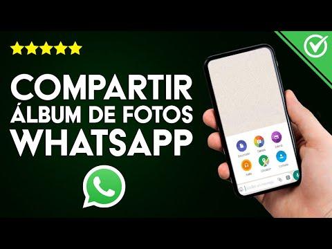 Cómo Compartir o Reenviar un Álbum de Fotos por la Aplicación WhatsApp de mi Celular paso a paso