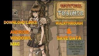 WITCH TRAINER( AKABUR) [FINAL VERSION]WALKTHROUGH & SAVEDATA
