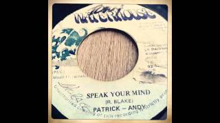 Patrick Andy - Speak Your Mind