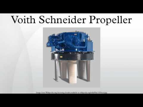 Voith Schneider Propeller Youtube