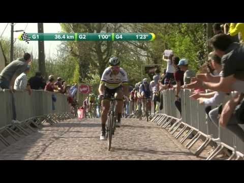 Watch highlights of Philippe Gilbert's epic win in the Tour of Flanders