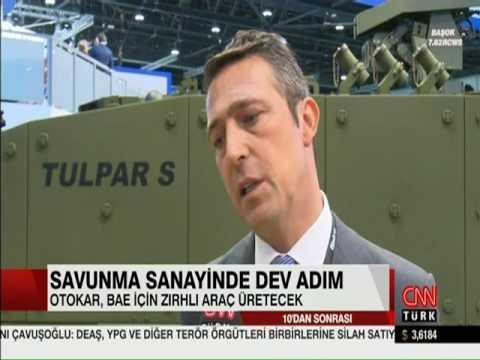 Otokar dev anlaşma (Cnn Türk - Sinem Yöndem 19.02.2017)