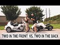 Spyder F3 vs Goldwing Trike