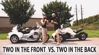Spyder F3 vs Goldwing Trike